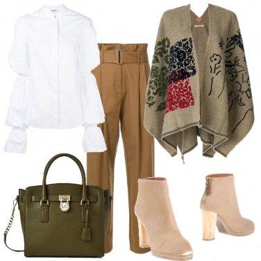 Outfit Una calda mantella