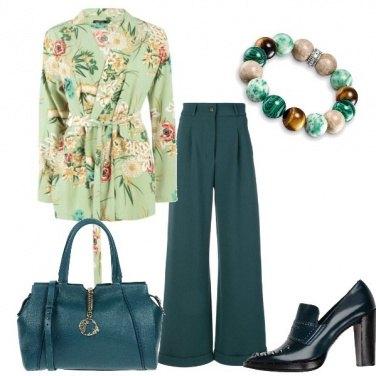 Outfit Pensieri in verde