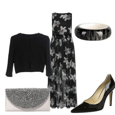 Outfit Fiori d\'argento