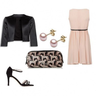 Outfit Mamma in rosa