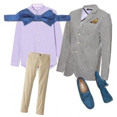 Outfit Uomo eclettico
