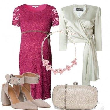 Outfit Pizzo colorato