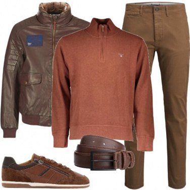 Outfit Marrone