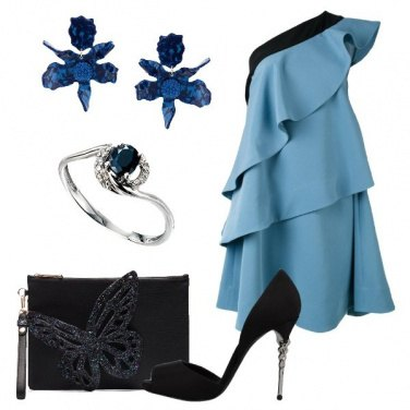 Outfit Bellissima in azzurro