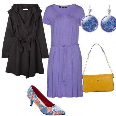 Outfit Elegante con il giallo