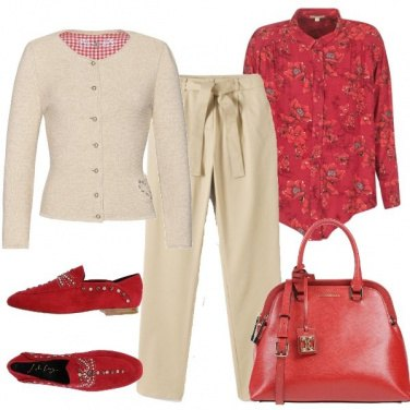 Outfit Studio in rosso