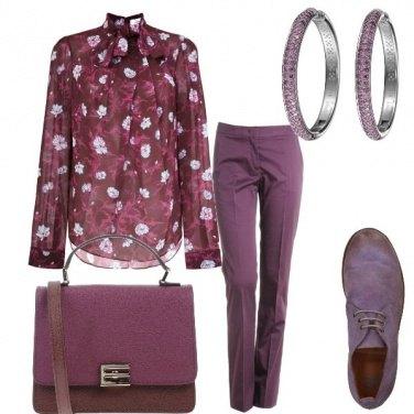 Outfit Toni di lilla