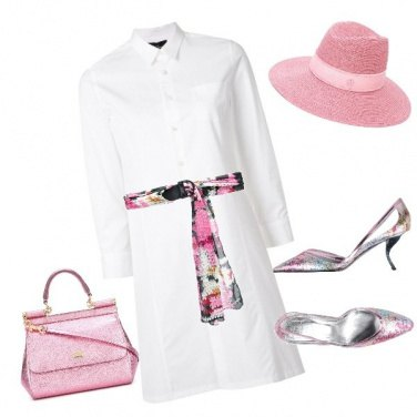 Outfit Donna in rosa