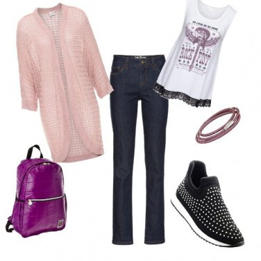 Outfit Everyday rock on a budget
