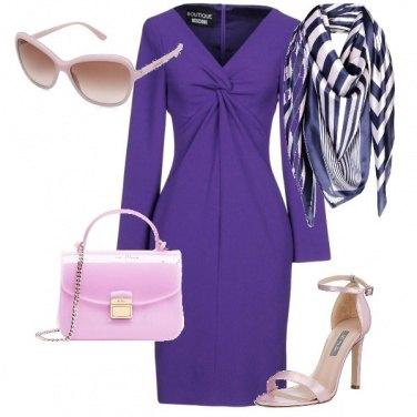 Outfit Pantone Ultra Violet 2018