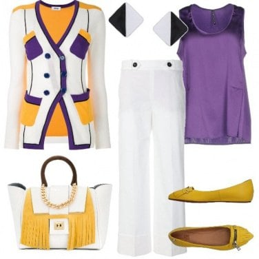 Outfit Chic a colori