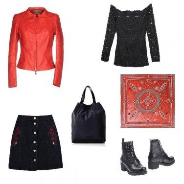 Outfit ROSSO - Un colore super chic