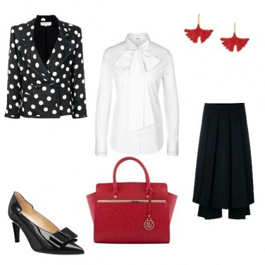 Outfit Red ribbon
