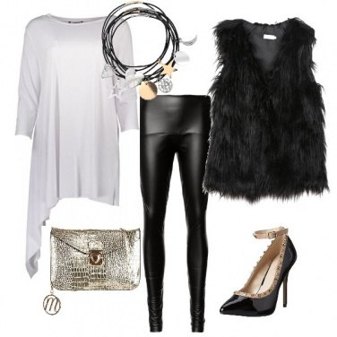 Outfit Romantica rock