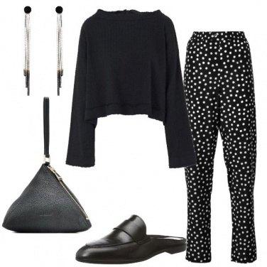 Outfit Abbinamenti in nero