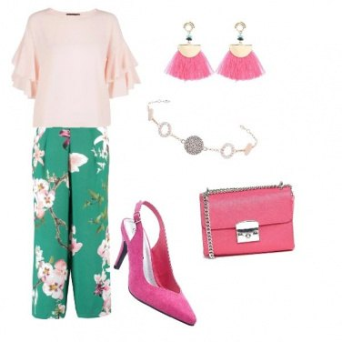 Outfit Chic floreale