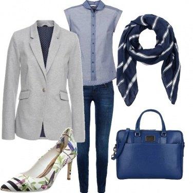 Outfit In ufficio con il sorriso