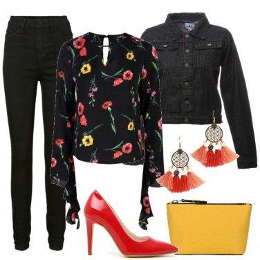 Outfit La blusa con volant