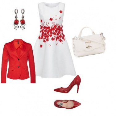 Outfit red Eva