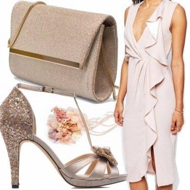Outfit Elegantissima in beige