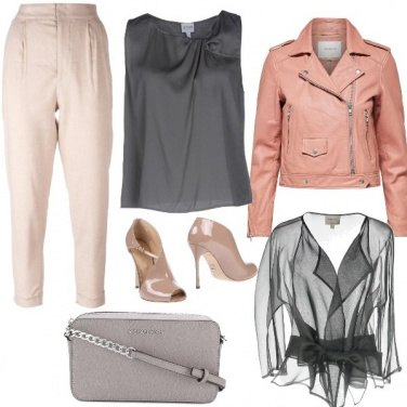Outfit Rosa Grintoso