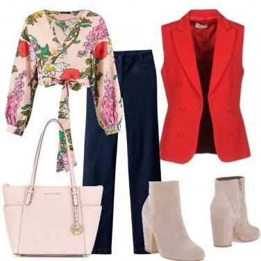 Outfit Top e gilet
