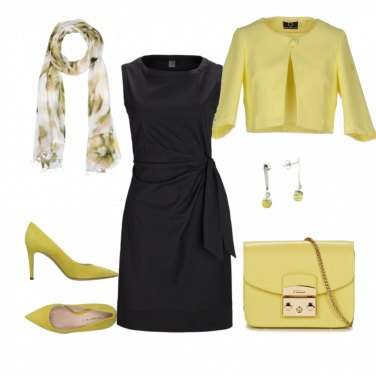 Outfit Yellow Spring