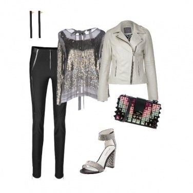 Outfit Stanche del nero