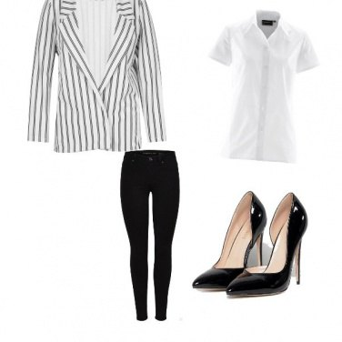 Outfit Righe di tendenza