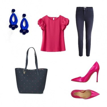 Outfit Top fucsia