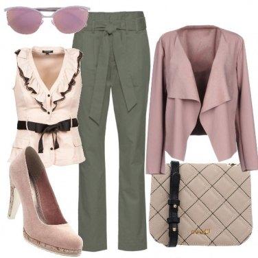 Outfit Rosa bon ton