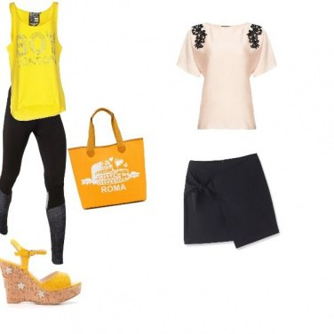 Outfit Al centro commerciale