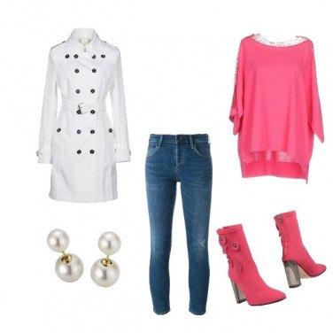 Outfit Luce e fucsia everyday