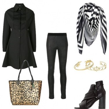 Outfit All black office