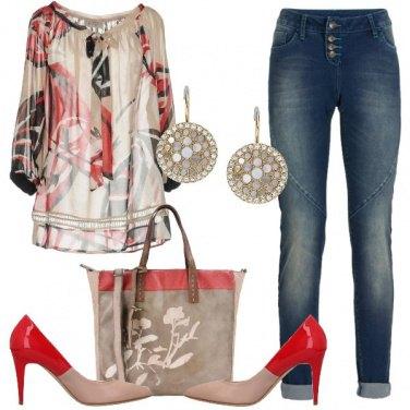 Outfit Trendy con il rosso