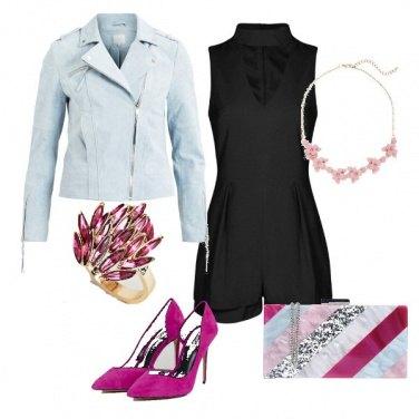 Outfit Note di fucsia