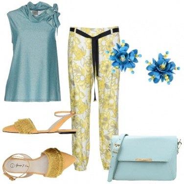 Outfit Fiori di primavera