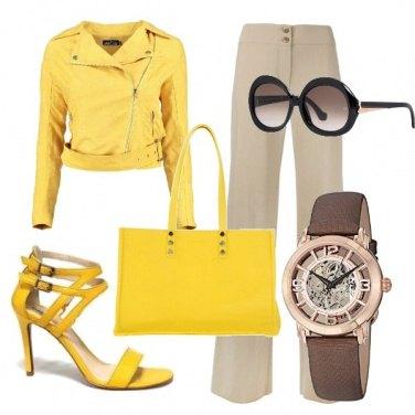 Outfit Primavera in giallo