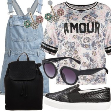 Outfit Tomboy Look