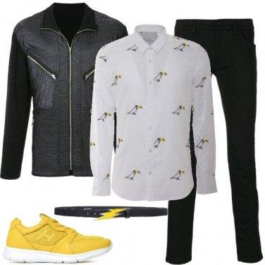 Outfit Accenni di giallo