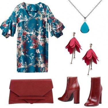 Outfit Fiori in primo piano