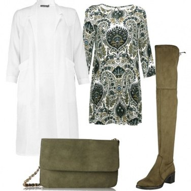Outfit Trench e cuissard