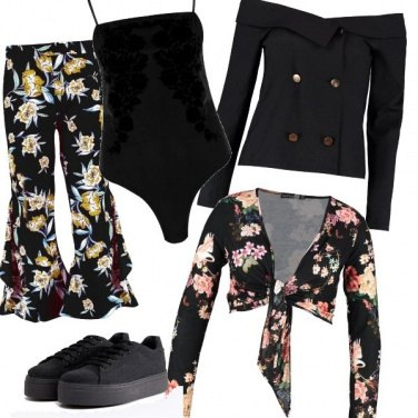 Outfit Tendenza flowers