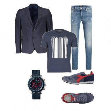 Outfit Sport&Trend in blue!
