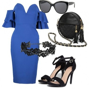 Outfit Estate in blu