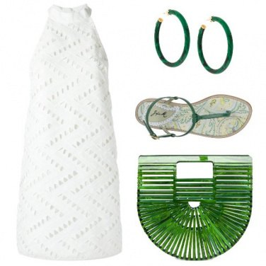 Outfit Paradiso tropicale