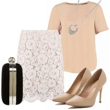 Outfit Gonna in pizzo