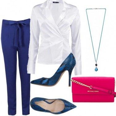 Outfit Borsa rosa