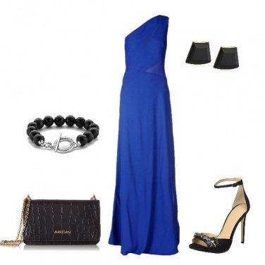 Outfit il vestito monospalla
