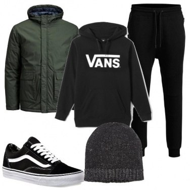 Outfit Vans nel mio cuore